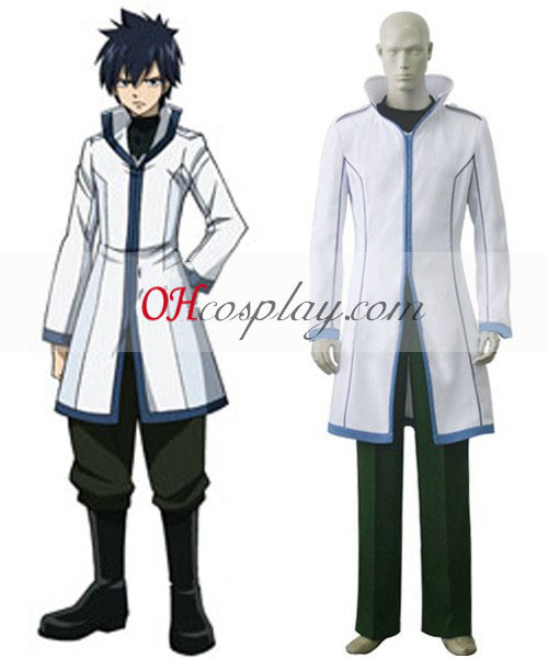 Fairy Tail Gray Fullbuster Cosplay Traje