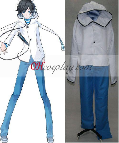 Devil Survivor Hibiki Kuze cosplay traje