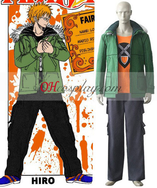 Fairy Tail Loke Loki Cosplay Traje