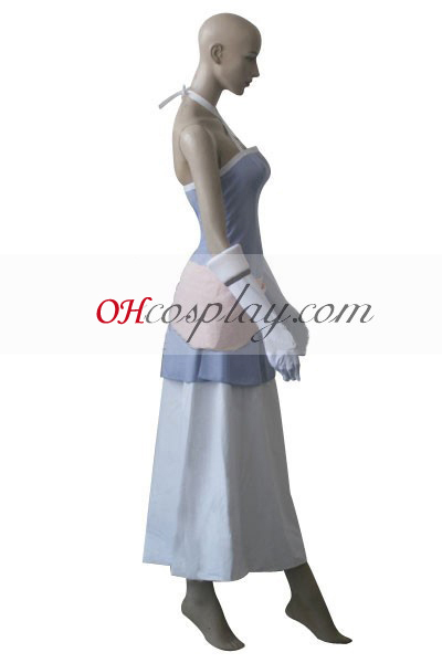 Приказка задни Lisanna рокля Cosplay костюм