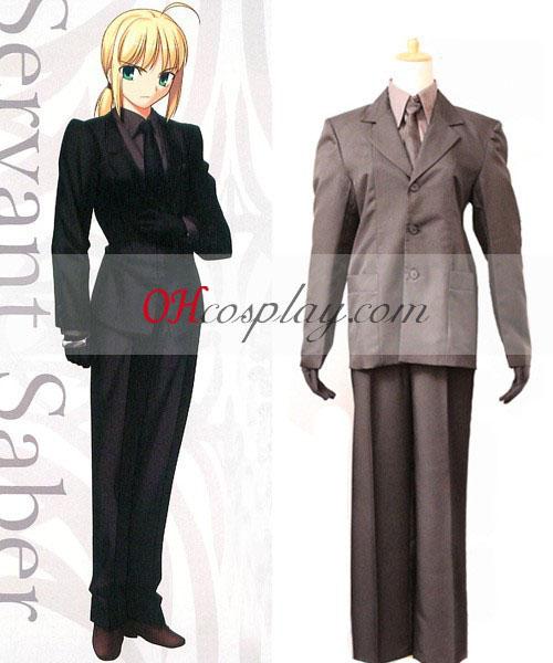 검은 양복 fatezero 군도 코스프레 의상