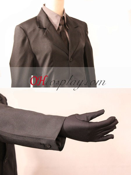 FateZero Saber Black Suit Cosplay Costume