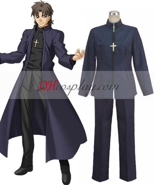 Lot Zero Kirei Kotomine Cosplay Costume