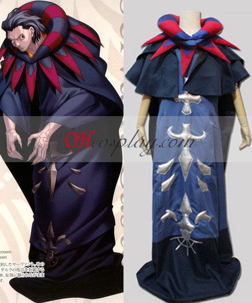 Fate Zero Servent Caster Gilles de Rais Cosplay kostuum