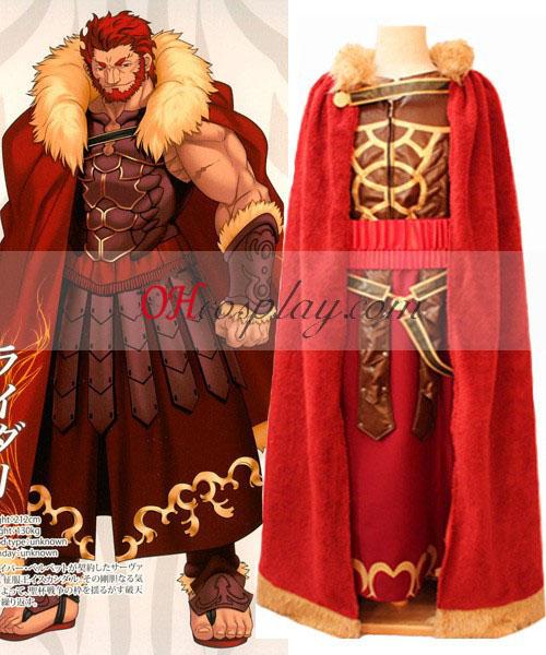 FateZero Rider Conquestor Alexander Cosplay kostumov