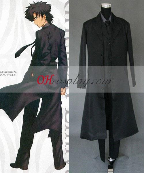 Fate Zero Master Kiritsugu Emiya Cosplay Kostuum