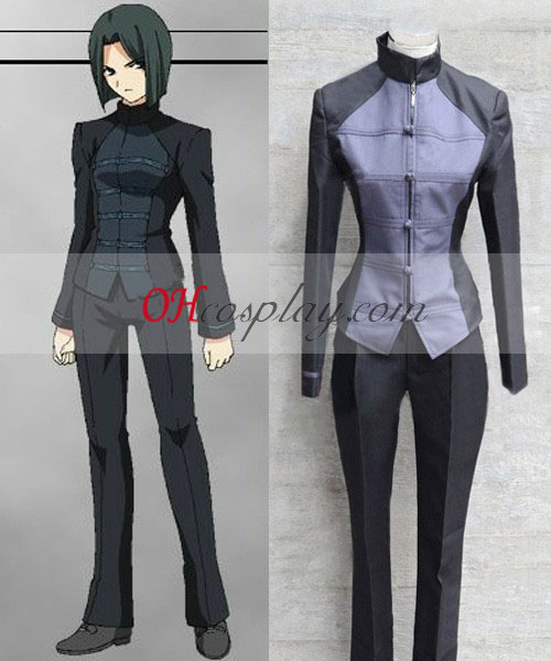 Lot Zero Haiya Hisau Cosplay Costume