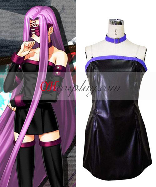 Fate Stay Night Rider Cosplay kostyme