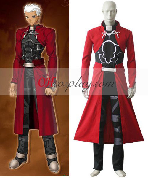 Fate Stay Night Archer Cosplay Kostym