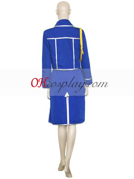 Fullmetal Alchemist Winry Rockbell Militaire Cosplay Costume
