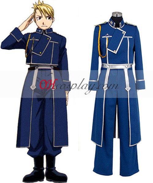 Fullmetal Alchemist Riza Hawkeye Military Cosplay Costume Australia