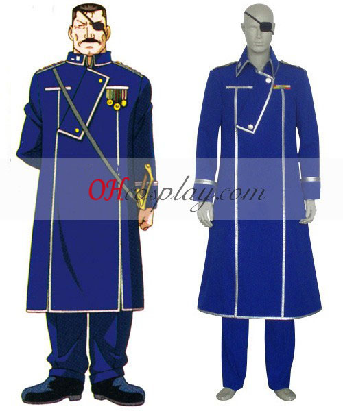 Fullmetal Alchemist Kong Bradley udklædning Kostume