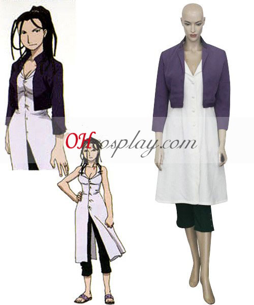 Fullmetal Alchemist Izumi Curtis udklædning Kostume