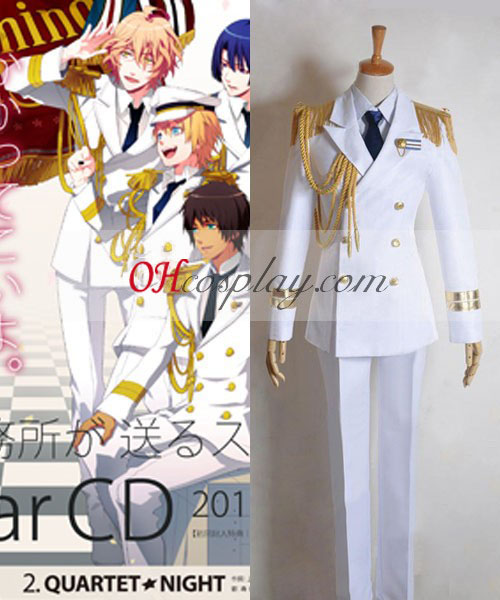 Uta no Prince-sama Brillant All Star RAINBOW RÊVE chant Costume Carnaval Cosplay