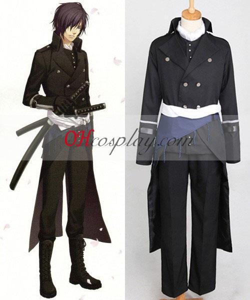 Hakuouki Shinsengumi Kitan Sait Hajime Cosplay Costume