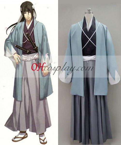 Hakuouki Hijikata Toshizo Cosplay Kostym