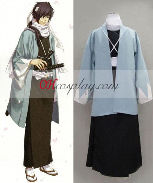 Hakuouki Saito Hajime Cosplay Kostym