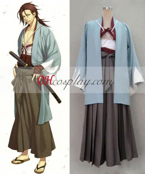 Hakuouki Sanosuke Harada Cosplay kostumov
