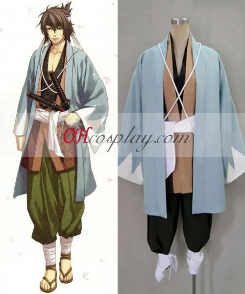 Hakuouki Sōji Okita Κοστούμια Cosplay