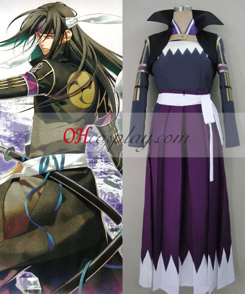 Hakuouki Hijikata Toshiz Fight Cosplay Costume