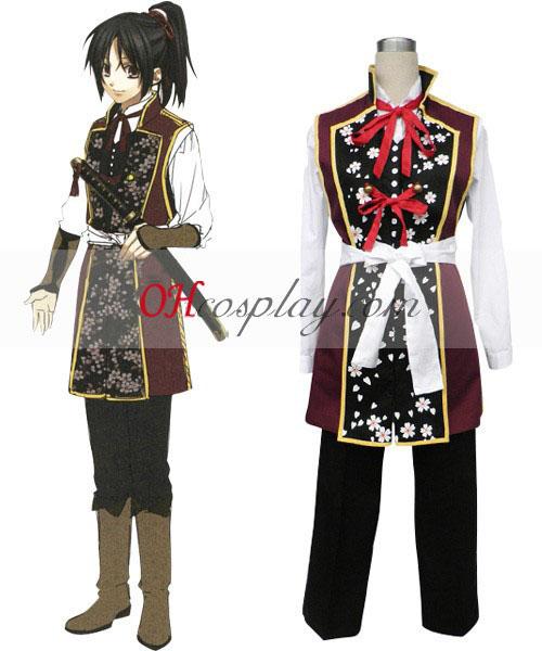 Hakuouki Shinsengumi Kitan Yukimura Chizuru Κοστούμια Cosplay