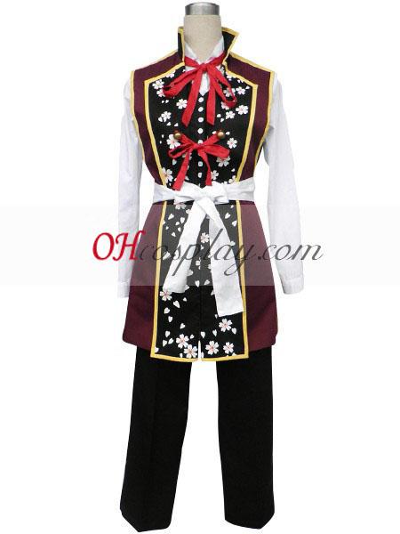 Hakuouki Shinsengumi Kitan Yukimura Chizuru udklædning Kostume