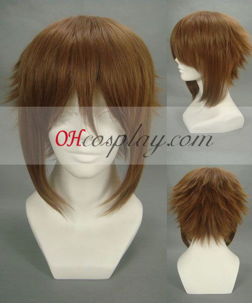 Hakuouki Soji Okita Brown Cosplay Wig