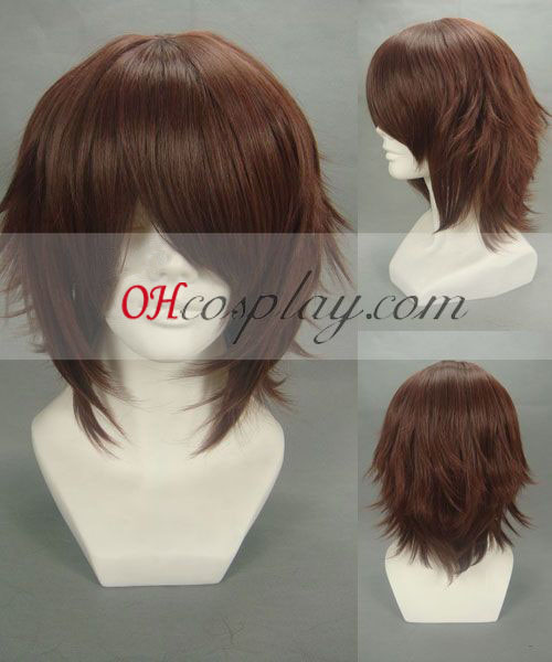 Hakuouki Sōji Okita Brown Cosplay Wig