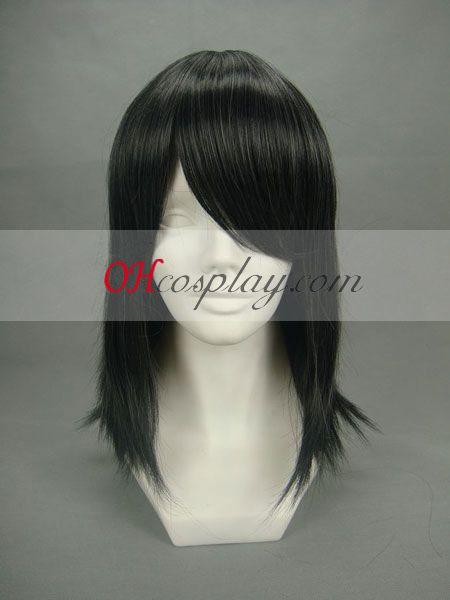 Hakuouki Keisuke Yamanami Black udklædning paryk
