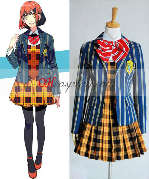 A fejedelem Uta-sama Haruka Nanami iskolai egyenruha van Cosplay