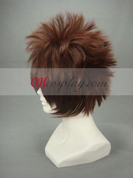 Hakuouki Nagakura Shinpachi Brown Cosplay Wig