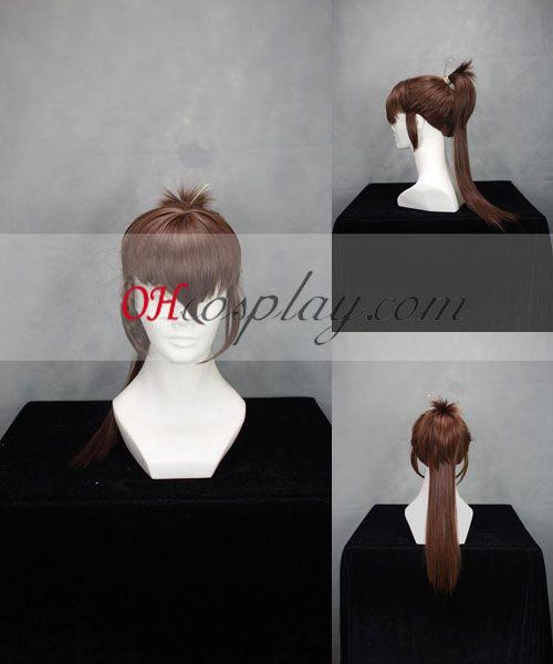 Hakuouki Heisuke Todo Cosplay parrucca Marrone