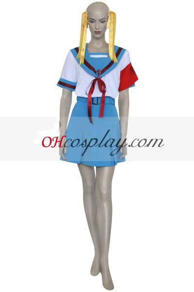 suzumiya haruhi suzumiya haruhi קוספליי תלבושות תלבושת אחידה