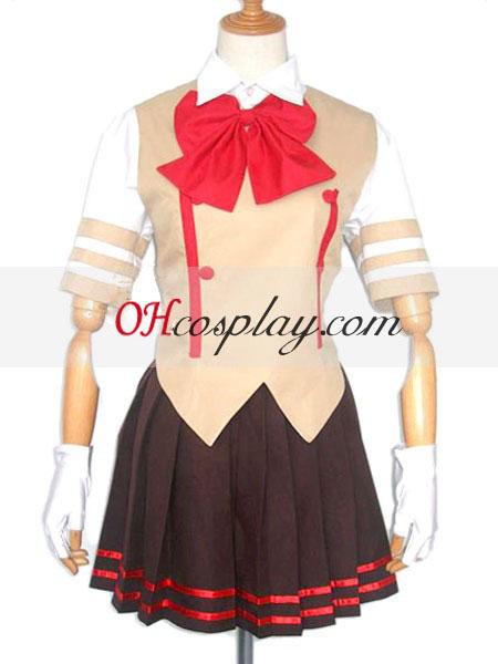suzumiya haruhi No yuuutsu קוספליי תלבושות תלבושת אחידה