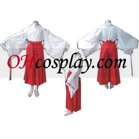 Inuyasha Kikyo udklædning udklædning Kostume