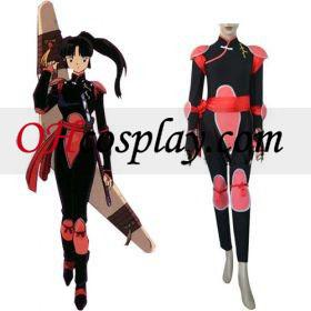 Inuyasha Sango Fighting udklædning Kostume