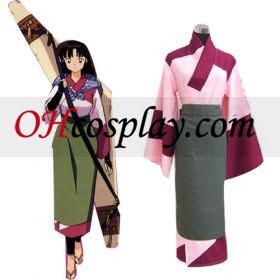 Inuyasha Cosplay szango szankszrit öltözetben