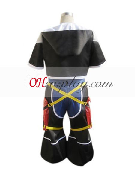 Kingdom Hearts 2 Sora Cosplay Costume