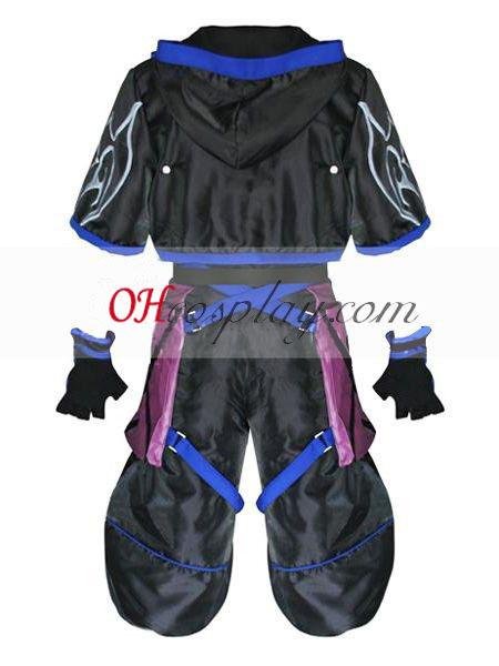 Kingdom Hearts 2 Anti Sora Cosplay Costume