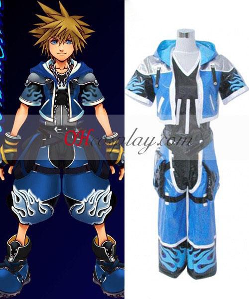 Kingdom Hearts Sora Wisdom Form Cosplay Costume