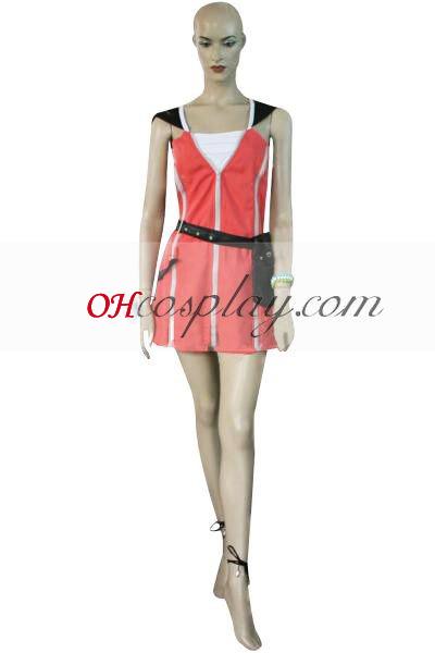 Kingdom Hearts 2 Kairi Pink Dress Cosplay Costume