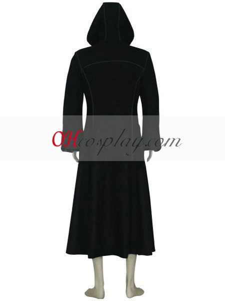 Kingdom Hearts 2 Organization XIII Roxas Black Cosplay Costume