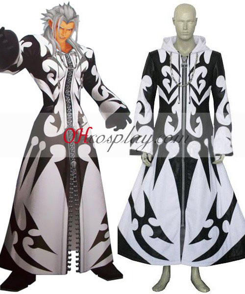 Kingdom Hearts Xemnas Cosplay kostumov