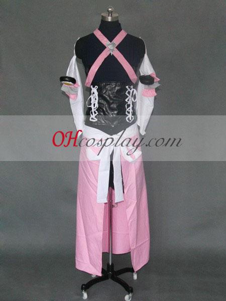 Kingdom Hearts Kairi Red Cosplay Costume