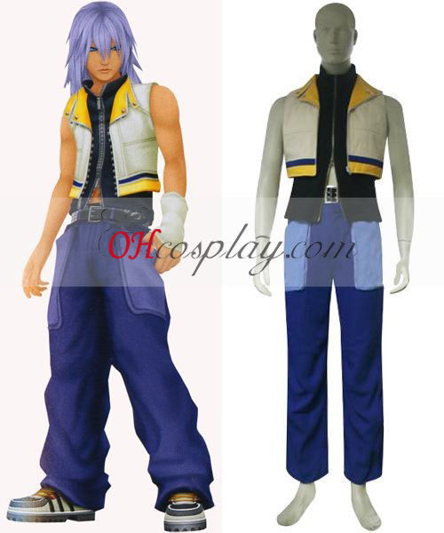 Kingdom Hearts 2 Riku Cosplay Kostym