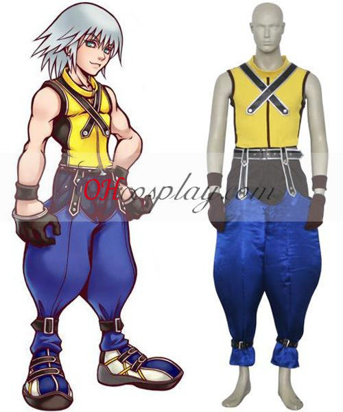 Kingdom Hearts 1 Riku Cosplay Kostym