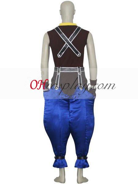 Kingdom Hearts 1 Riku Cosplay Costume