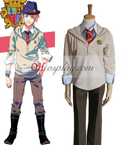 Uta no Prince-sama Syo Kurusu uniforme Traje Cosplay