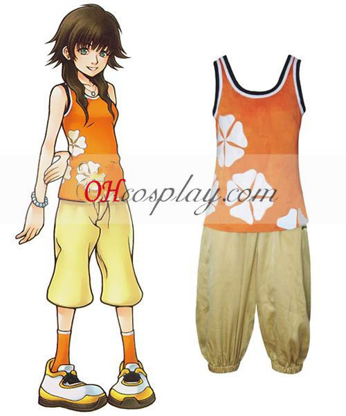 Kingdom Hearts 2 Marsanne Cosplay Costume