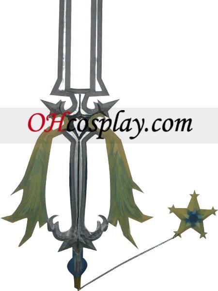 ממלכת הלבבות oathkeeper קוספליי עץ נשק